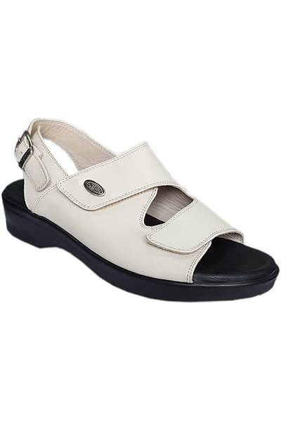 Topuk Dikeni Sandaleti Bayan Bej EPT08AJ