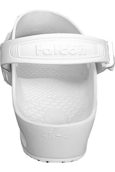 Falcon Beyaz Atkýlý Antistatik Otoklavlanabilir Ameliyathane Terliði (Güvenlik Kemerli)