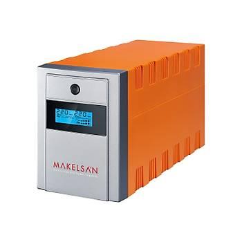 Makelsan Lion+ 1500 VA LCD/USB (2x 9AH) 5-10dk UPS