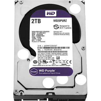 WD Purple 2TB 3,5