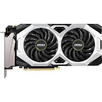 MSI GeForce RTX 2070 Super Ventus OC 8GB 256Bit GDDR6 (DX12) PCI-E 3.0x16 Ekran Kartý
