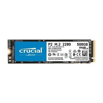 Crucial P2 500GB SSDm.2 NVMe PCIeCT500P2SSD8