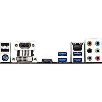 Gýgabyte GA-H170-HD3 Intel H170 2133MHz DDR4 Soket 1151 ATX Anakart