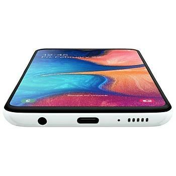 Samsung Galaxy A20e Cep Telefonu (Turuncu Beyaz Mavi)