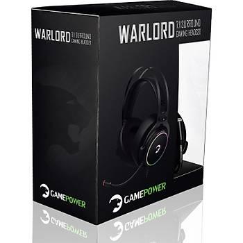 Gamepower Warlord Siyah 7.1 Surround RGB Oyuncu Kulaklýk