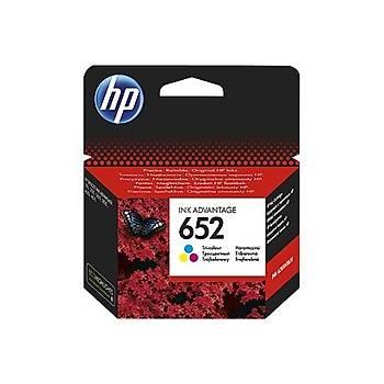 HP 652 Renkli Mürekkep Kartuþu F6V24AE