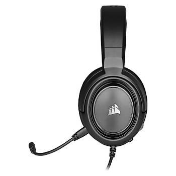 Corsair HS35 Stereo Siyah Oyuncu Kulaklýk