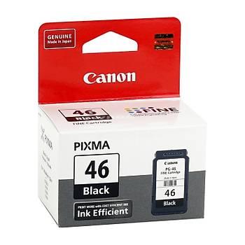 Canon PG-46 Siyah Mürekkep Kartuþu