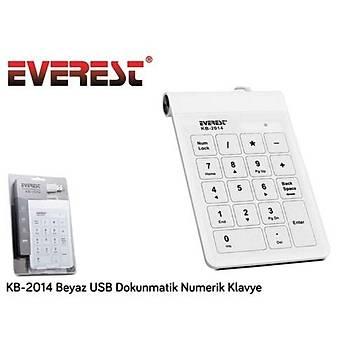 Everest Numerik Kep Pad kb-2014 Beyaz