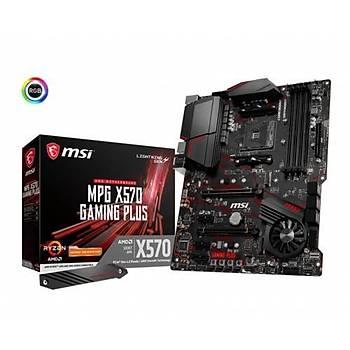 MSI MPG X570 GAMING PLUS DDR4 M.2 S+V+GL AM4 (ATX)