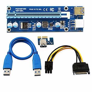 Riser Kart PCI-E 1x to 16x 6pin