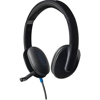 Logitech H540 USB Kablolu Mikrofonlu Kulaklýk 981-000480