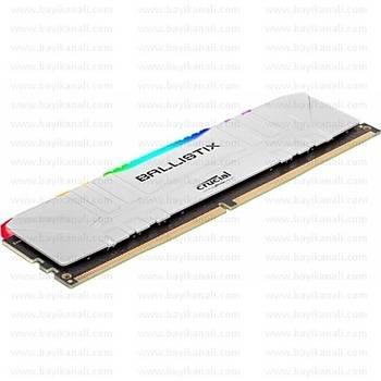 Ballistix 16GB RGB 3200MHz BL16G32C16U4WL Soðutuculu, DDR4, CL16,White