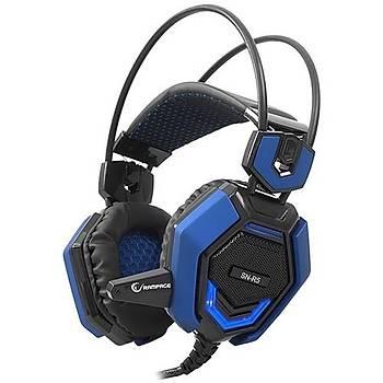 Rampage SN-R5 X-Core Mik. Kulaklýk Siyah/Kýrmýzý