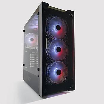 DarkFlash Skywalker RGB Mid Tower Kasa PSU YOK