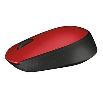 Logitech M171 Kablosuz Kýrmýzý Mouse