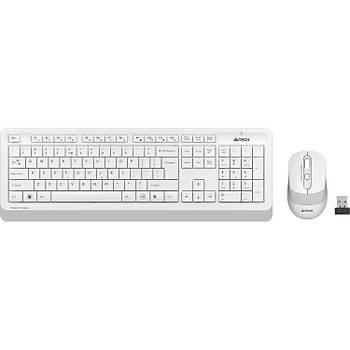 A4Tech FG1010 USB Beyaz Klavye + Mouse Kablosuz Set
