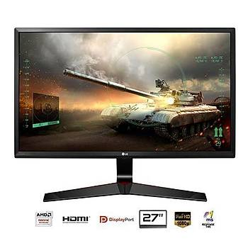 LG 27 27MP59G-P IPS 1920x1080 HDMI Display 1ms Siyah FreeSync Gaming