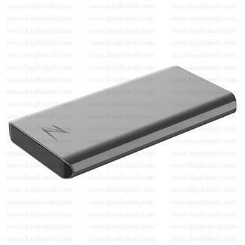 Netac Z8 PRO 500GB Taþýnabilir SSD NT01Z8PRO-500G-  900MB/800MB/s, USB 3.2 Gen 2 Type-C