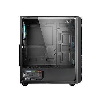 RAMPAGE RAMPART MESH 4*12cm RGB 80 PLUS BRONZ 600W