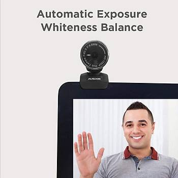 AUSDOM FHD Webcam 1920x1080P, AW615