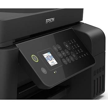 Epson EcoTank L5190 Tarayýcý + Fotokopi + Faks + Wi-Fi Direct + AirPrint Mürekkep Tanklý Yazýcý