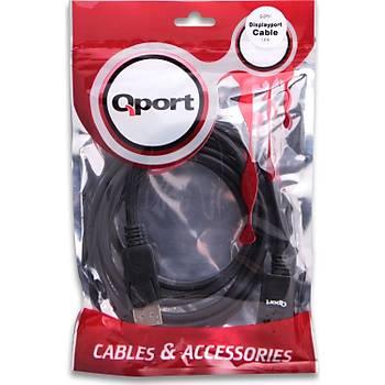 QPort Q-DP01 Display Port 1,8M Kablo