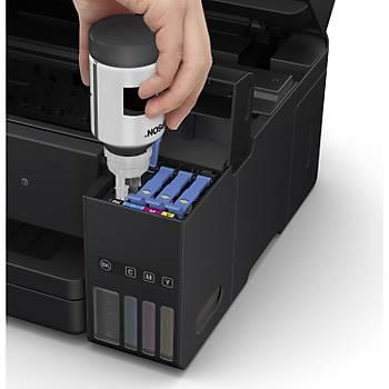 Epson L6190 Tarayýcý + Fotokopi + Wi-Fi Mürekkep Tanklý Yazýcý