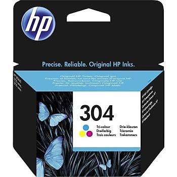 Hp N9K05AE Mürekkep Üç Renk Kartuþ (304)