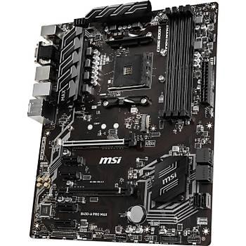 MSI B450-A Pro Max AMD B450 3466MHz DDR4 Soket AM4 ATX Anakart
