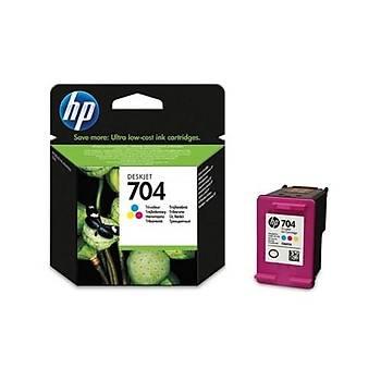 HP 704 Deskjet 2060 Üç Renkli Kartuþ