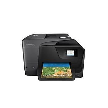 HP OfficeJet Pro 8710 Fotokopi + Faks + Tarayýcý + Wi-Fi + Airprint + Çift taraflý Yazýcý