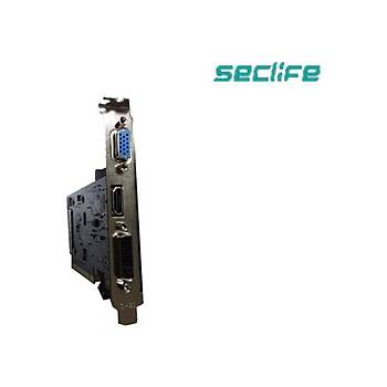 Seclife Nvidia GeForce GT210 1GB 64Bit DDR2 PCI-E x16 Ekran Kartý GT210