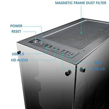 DarkFlash Phantom RGB Mid Tower Kasa 650w 80 plus