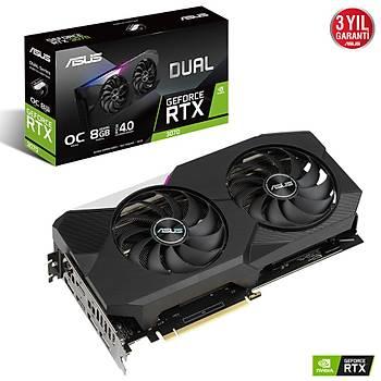 Asus DUAL RTX3070-O8G GAMING 8GB 256Bit GDDR6