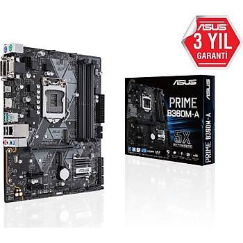 Asus Prime B360M-A 2666MHz DDR4 Soket 1151 mATX Anakart