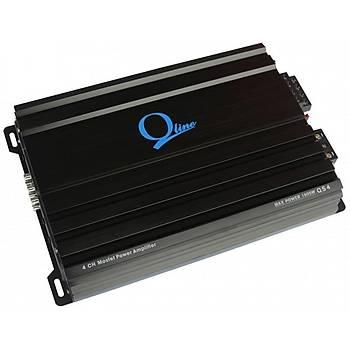 Qline  Qs 4 Black 4 Kanal Amfi