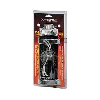 POWERBASS - ASC-2.4  2,4  Farad  Digital  Kapasitör