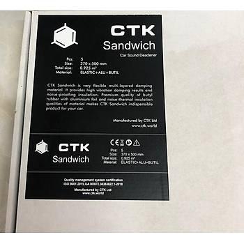 Ctk Sandwich Modeli 37x50 5 Adet 1 Paket 8mm Arac Ýzolasyon