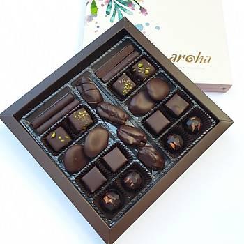 Aroha Bayram Özel 500 GR Kutuda - Bean to bonbon serisi
