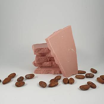 Aroha Çilekli Sütlü Çikolata Kuvertürü - 200-400-800 Gr. Seçenekleri Ýle