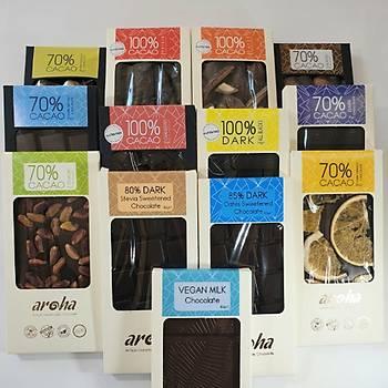 Aroha Çikolata Vegan Ürünler Serisi - 13 Çeþit