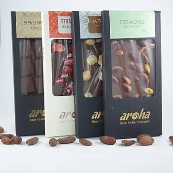 Aroha Sütlü Çikolata-Dörtlü Lezzet