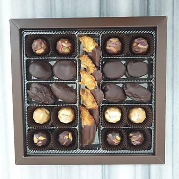 500 Gr. lýk kutuda 25 adet Spesiyal Çikolata