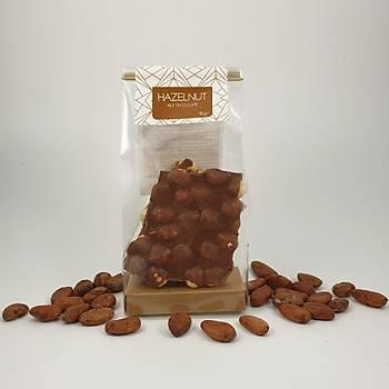 Fýndýklý Sütlü Çikolata - %34 Kakao - 100 - 300 - 600 Gr. seçenekleri ile.