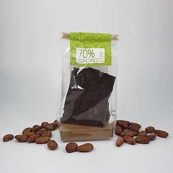 Aroha Antepfýstýklý Bitter Çikolata - %72 Kakao. 100-300 ve 600 Gr. seçenekleri ile.