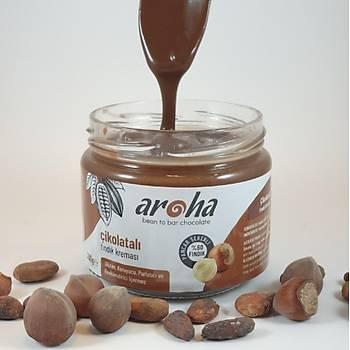 Aroha Çikolatalý Fýndýk Kremasý Þekerli- 300 gr