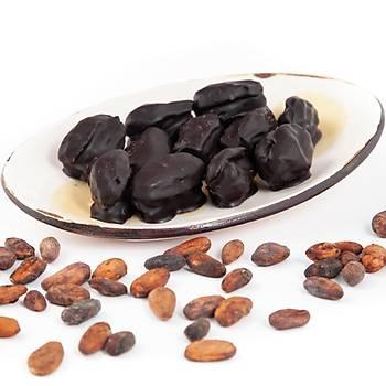 %100 Bitter Çikolata Kaplı, Fındık Dolgulu Hurma