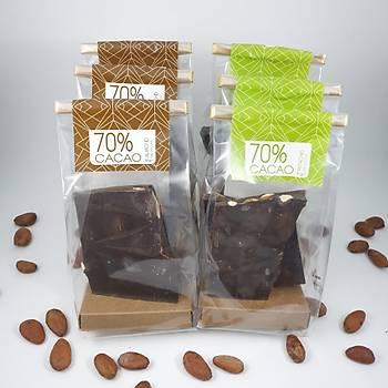 Aroha Çikolata - %70 Serisi. 6 lý paket
