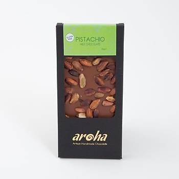 Aroha Antepfýstýklý Sütlü Çikolata - %50 Kakao
